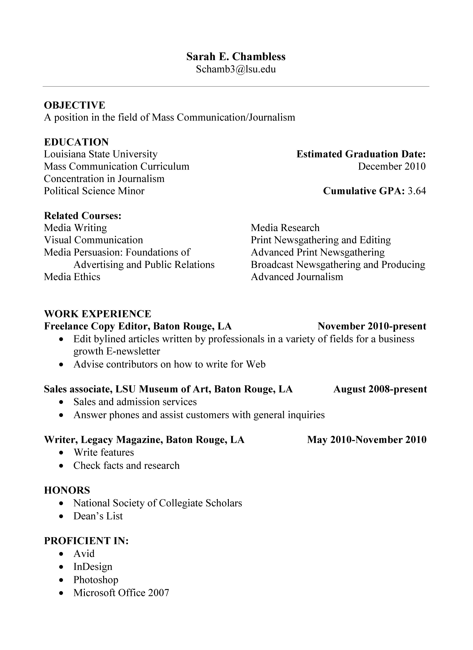category archives rsum - Inexperienced Resume Examples